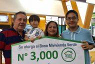 Entrega de Bonos Mivivienda Verde crece por tercer mes consecutivo