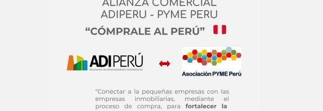 ALIANZA COMERCIAL:                ADIPERU – PYME PERÚ