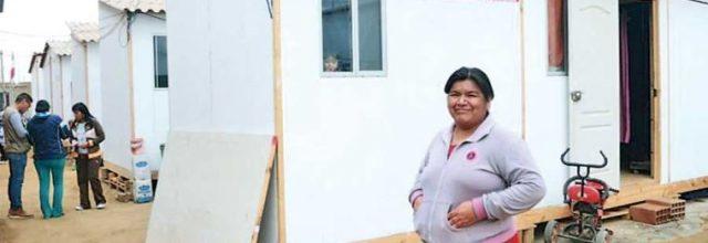 Garantizan viviendas dignas para damnificados